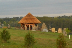 Thatch Completed at Kinstone