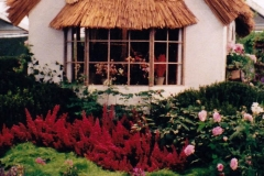 Thatched Gable Window Detail