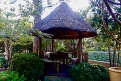 thatched gazebo