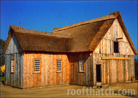 Thatch Water Reed Barn
