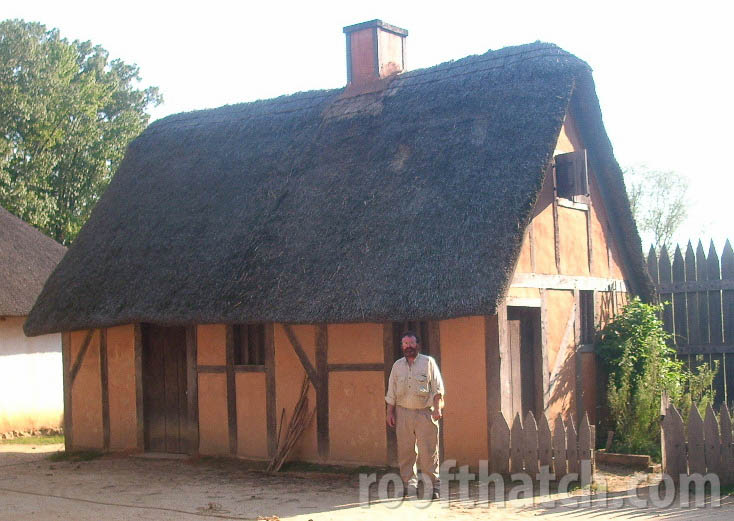 Completed Repairs on Thatch Cottage