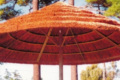 Thatch Paneled Umbrella