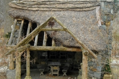 Thatched Faerie Cottage Entrance