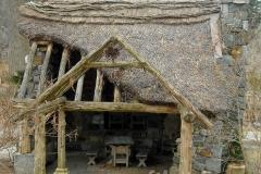 Thatched Faerie Cottage Entrance