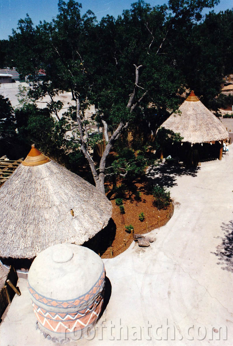 Thatched Restrooms